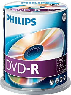 Philips DM4S6B00F – 100 x DVD-R – 4.7 GB (120 Min.) 16x