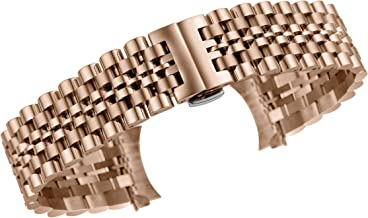 Multiple Ends Watch Wristband 316L Stainless Steel with Adjustable Links