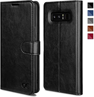 OCASE Galaxy Note 8 Case, Samsung Galaxy Note 8 Wallet Case [TPU Shockproof Interior Protective Case] [Card Slot] [Kickstand] [Magnetic Closure] Leather Flip Cover for Samsung Galaxy Note8 - Black