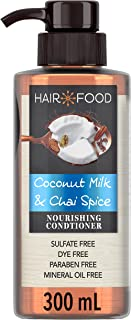 Hair Food Sulfate Free Nourishing Conditioner with Coconut and Chai Spice, 300ml