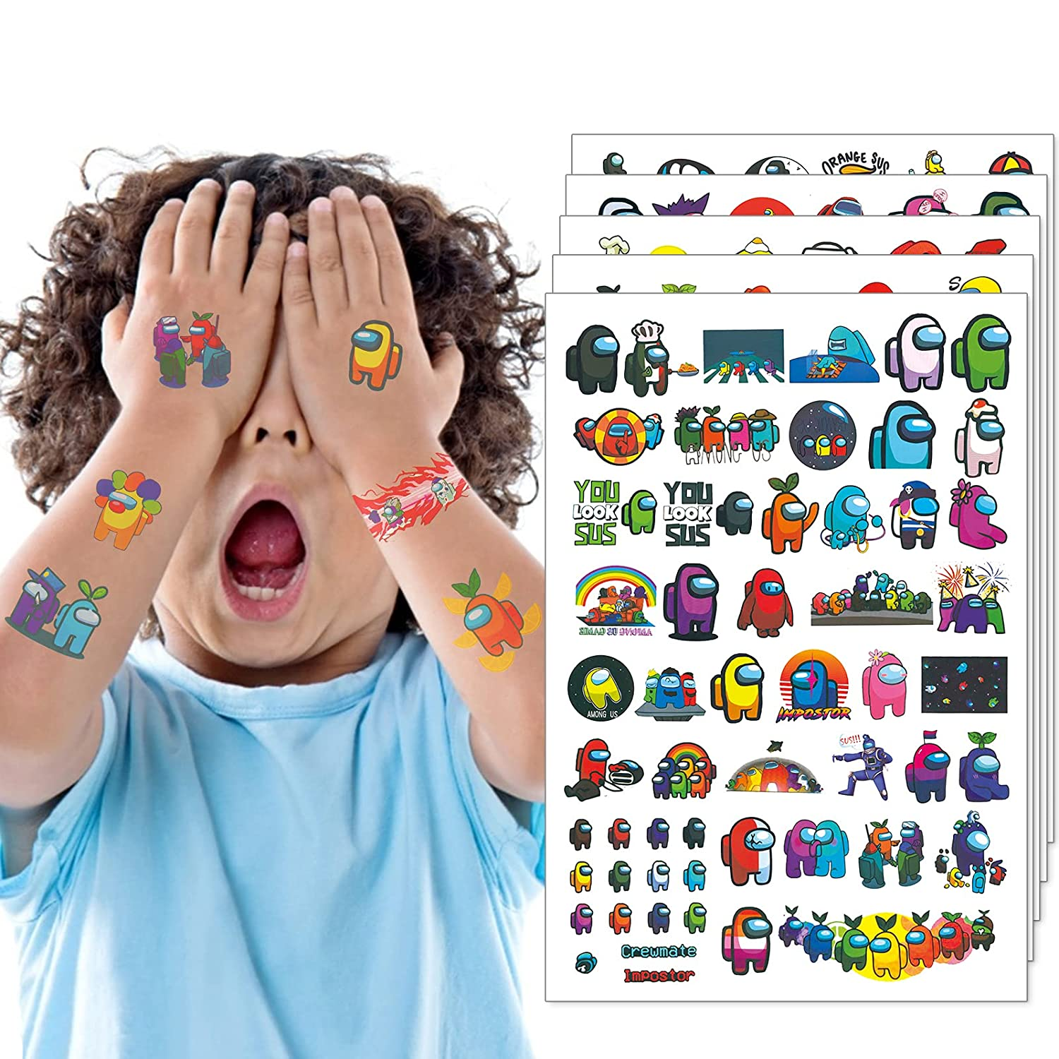 Temporary Tattoos for Kids Waterproof Fake St Craft Art Recommendation Finally popular brand
