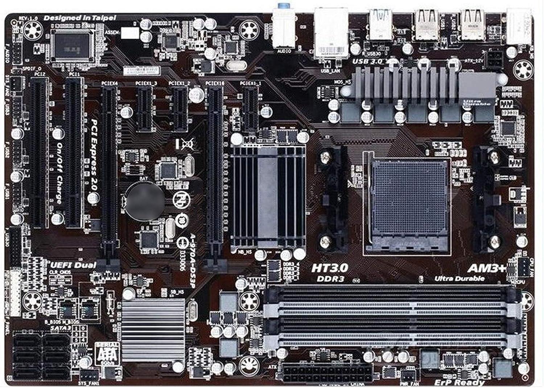 GUOQING Placa base 970 para Gigabyte GA-970A-DS3P Socket AM3/AM3+DDR3 970A-DS3P placas 32GB 970 Desktop Mainboard PC Motherboard