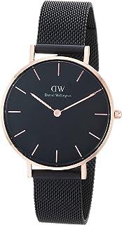 Daniel Wellington Women's Watch Classic Petite Ashfield  Black 28mm