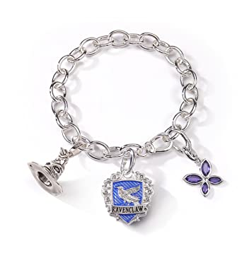 The Noble Collection Lumos Harry Potter Ravenclaw Charm Bracelet