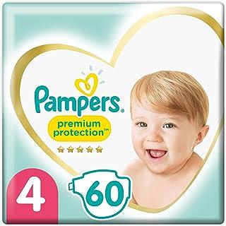 Pampers Premium Protection - Pañales, tamaño 4, 9 kg-14 kg