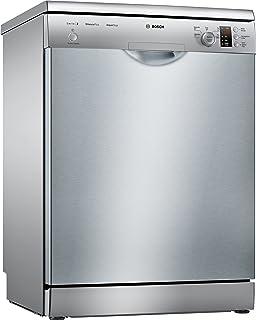 Bosch Serie 2 SMS25AI02J lavavajilla Independiente 12 cubiertos A++ - Lavavajillas (Independiente, Tamaño completo (60 cm), Acero inoxidable, Acero inoxidable, Botones, Giratorio, LED)