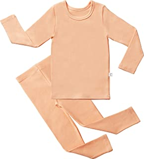 AVAUMA Baby Boys Girls Pajama Set Kids Toddler Snug fit Basic Cotton Sleepwear for Halloween Costume and Ordinary Day
