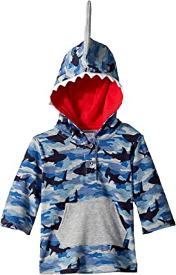 Camo Shark Hooded Swimsuit Cover-Up (Infant/Toddler)