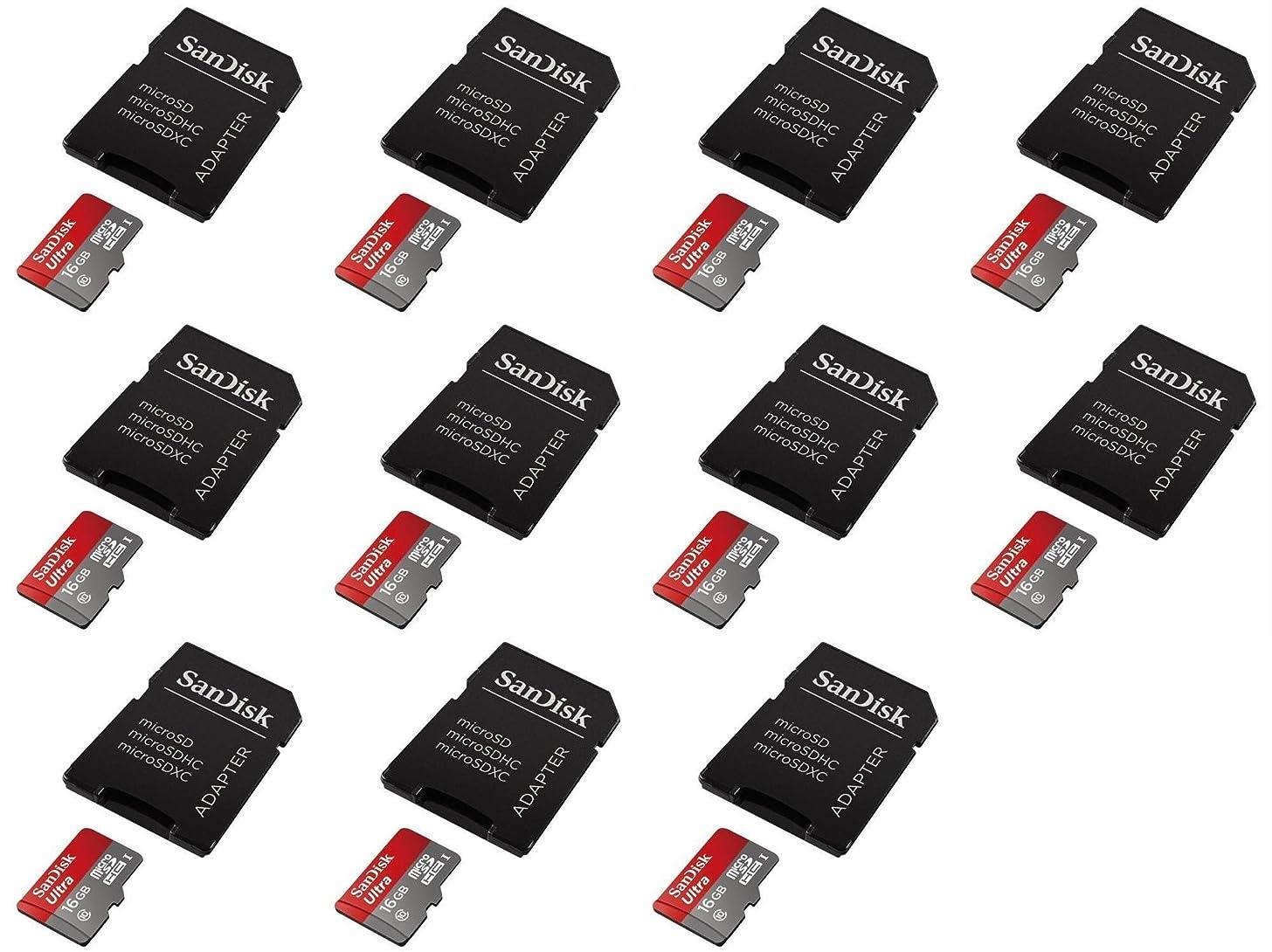 バーター資金セッション11?x数量のMotorola RAZR MAXX 16?GB Micro SDメモリーカードSDHC Ultraクラス10アダプター付き最大48?MB / s