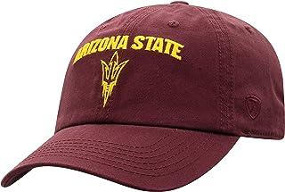 Elite Fan Shop Arizona State Sun Devils Hat Arch Maroon - Adjustable