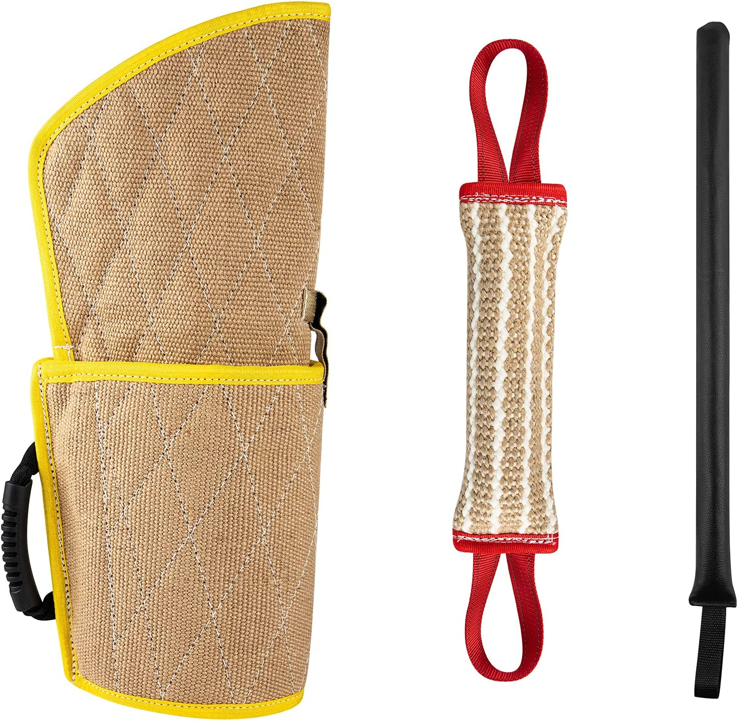 MeiMeiDa Dog Training Bite Sleeve Whip with Spring new work one after another Product Agi Arm