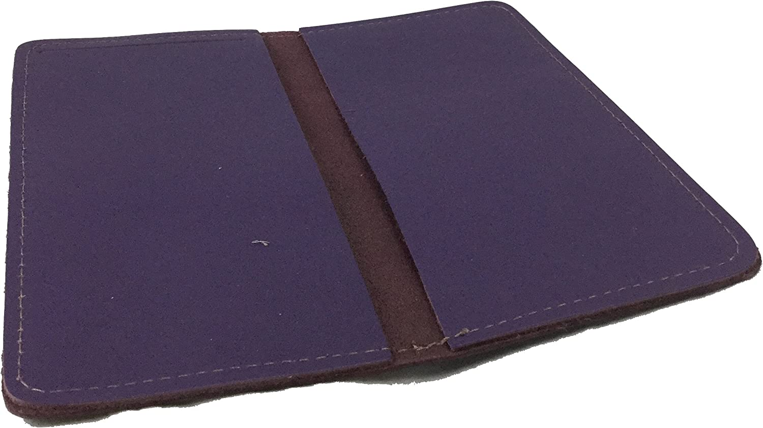 Leather Checkbook Cover Wallet for Duplicate Checks