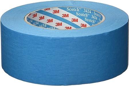 3m Scotch 3434 Blaues Elastikband 110 C 50mm X 50m 07899 Auto