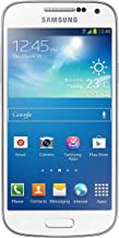 Samsung Galaxy S4 Mini GT-i9195i Unlocked Cellphone, Retail Packaging, White Frost