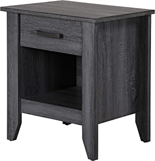 Glory Furniture Lennox , Black Nightstand, SIDE TABLE 24