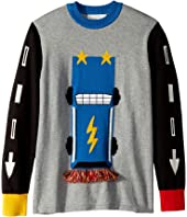 Stella McCartney Kids - Lucky Printed Long Sleeve Sweater (Toddler/Little Kids/Big Kids)