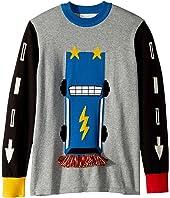 Stella McCartney Kids - Lucky Printed Long Sleeve Sweater (Toddler/Little Kids/Big Kids)