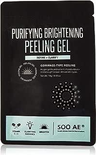 Soo Ae Purifying Brightening Peeling Gel, Purifying, Brightening, Calming, Exfoliator, Refining, Clarifying, Radiance, Even Skin, 0.18 Lb