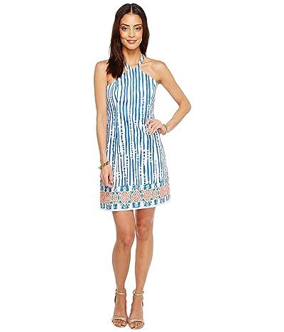 Lilly Pulitzer Iveigh Shift (Blue Crush Bay Stripe Engineered) Women