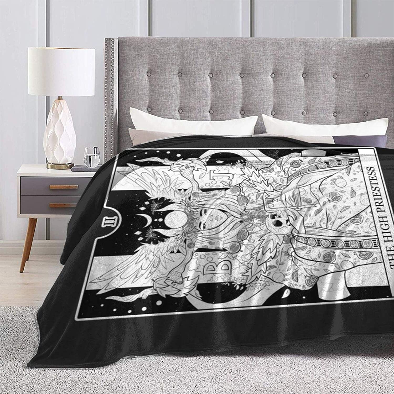The High Priestess - Tarot Card Max 69% OFF Wear-Re Throwing Charlotte Mall Blanket