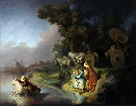 Quality Prints - Laminated 16x13 Vibrant Durable Photo Poster - The Abduction of Europa Rembrandt