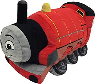 Nickelodeon Thomas and Friends Plush Stuffed James Pillow Buddy - Kids Super Soft Polyester Microfiber, 15 inch (Official ...