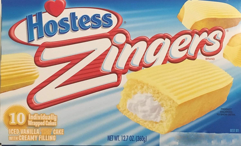 12.7oz Hostess Zingers Iced Vanilla Cake 2 10 ご注文で当日配送 - 有名な Pack of Piece