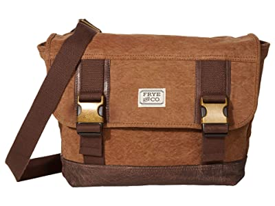 FRYE AND CO. Jackson Messenger (Tan) Messenger Bags