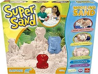 Goliath- Super Sand Safari - Arena Mágica, Color blanco, Talla Única (83.225) , color/modelo surtido