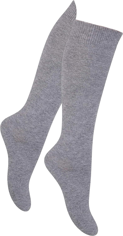 Knee High universal childrens socks Soft and Warm Size EU 26-40