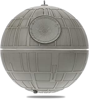 Hallmark Keepsake Christmas Ornament 2019 Year Dated Wars Death Star with Light and Sound