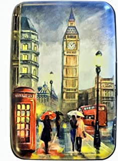 Fig Design Group London England RFID Secure Theft Protection Credit Card Armored Wallet Travel
