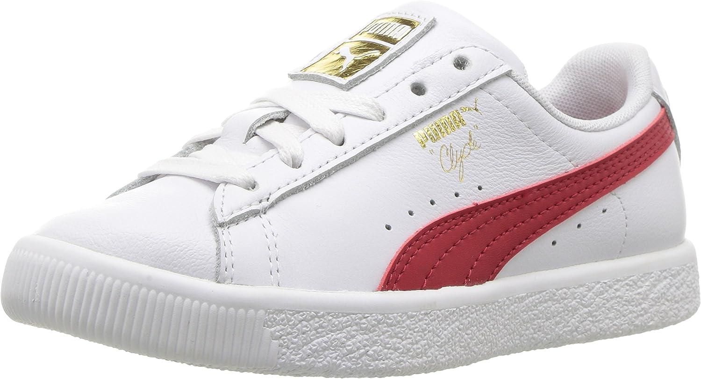 PUMA Unisex-Child Clyde Core Foil Sneaker