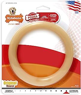 Nylabone Giant Original Flavored Ring Bone Dog Chew Toy