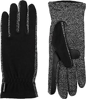 دستکش های صفحه نمایش لمسی آب دافع آبدار زنانه isotoner ، مشکی ، تک سایز