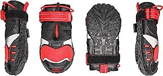 Kurgo K81004 Tvärgående skor för hundar, vattenavvisande hundskor, tasskydd för hela året, medelstora och stora hundar, 340 g