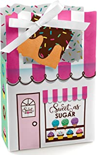 Sweet Shoppe - Candy and Bakery Birthday Party or Baby Shower Favor Boxes - Set of 12