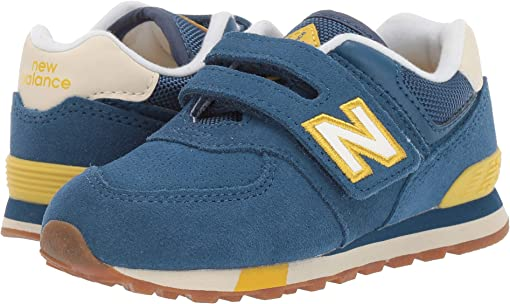 NB Dark Blue/Chartreuse