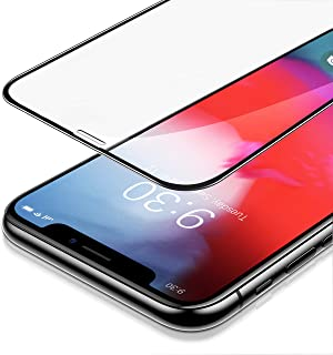 MIPOW iPhone Xs/XS Max Screen Protector, Full Clear Tempered Glass Screen Guard with Advanced Clarity [Anti-Blue Light Eye...