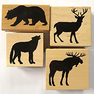 Best moose rubber stamps Reviews