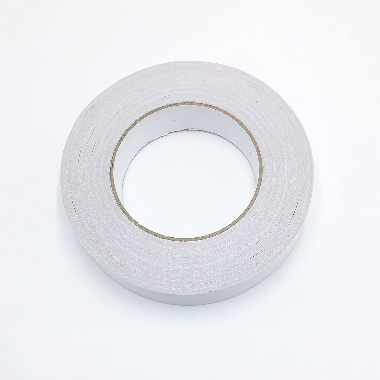 Grekywin 1 Roll Double Sided Translucent Heavy Duty Permanent Tape for Craft Card Making Gift Wrapping Scrapbooking, 25mm(Approx 1in) x 40m(Approx 44 Yards)