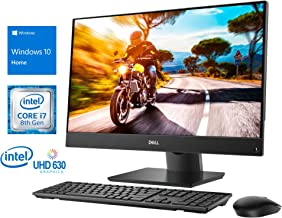 """$999 » Dell Inspiron 5477 All-in-One, 23.8"""" FHD Touch Display, Intel Core i7-8700T Upto 4.0GHz, 12GB RAM, 256GB NVMe SSD, HDMI, Card Reader, Wi-Fi, Bluetooth, Windows 10 Home"""