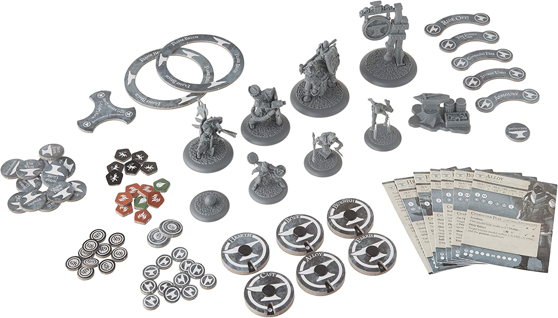 Ssquadrafoged giocos SFGBBLA-002 Guild Btutti  nerosmith Master Crafted Arsenal Miniature gioco cifra