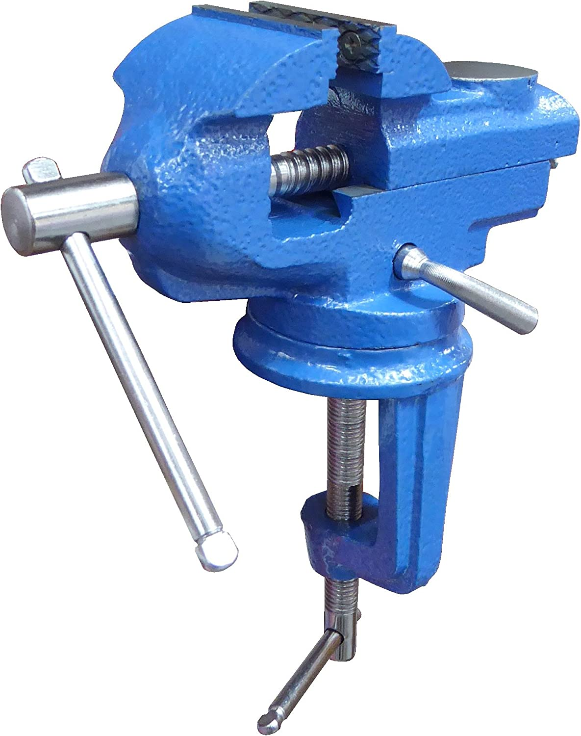 Small Clamp on Work Bench Vise with 5 ☆ very popular and Base Milwaukee Mall Anvil Swivel