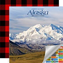 Alaska Wild & Scenic Wall Calendar 2020 — Bundle Includes Deluxe Gift-Wrapped Wall Calendar with Over 100 Calendar Stickers (Alaska Wild & Scenic 2020)