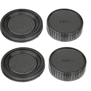 Genuine vintage Minolta MD fit rear lens cap.