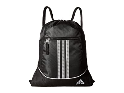 adidas Alliance II Sackpack (Black) Backpack Bags