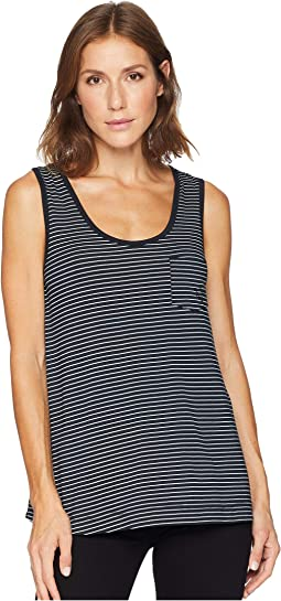 Pinstripe Siesta Key Pocket Tank
