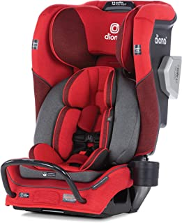 Diono 2020 Radian 3QXT, 4 in 1 Convertible, Safe+ Engineering, 4 Stage Infant Protection, 10 Years 1 Car Seat, Fits 3 Across, Red Cherry
