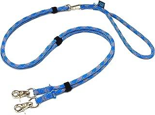 ドッグ・ギア ザイルリードタイプW ロープ径8mm 全長180cm ブルー 「大切な愛犬を迷子犬にしないためのリードです」